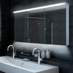spiegelkast badkamer foto